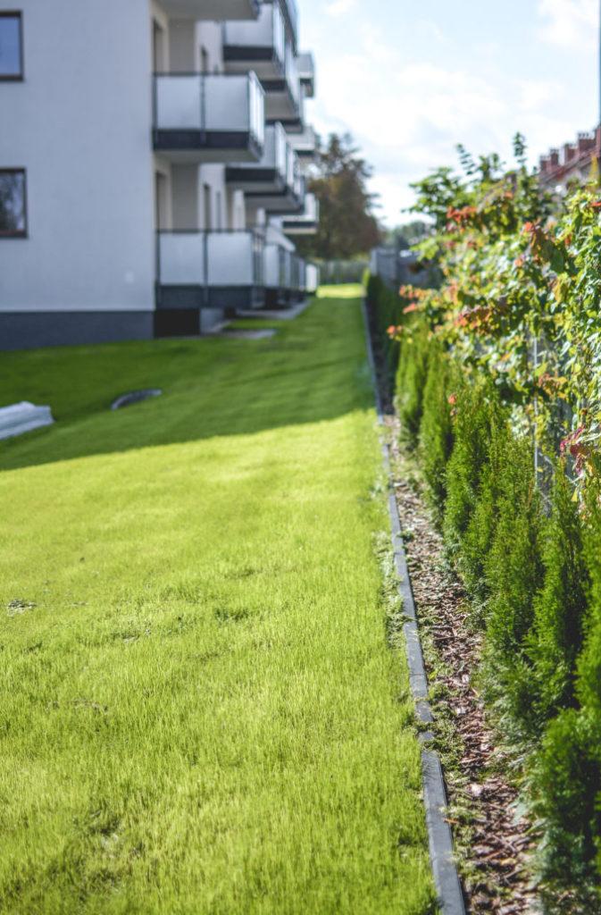Ogrody przy budynkach wielorodzinnych